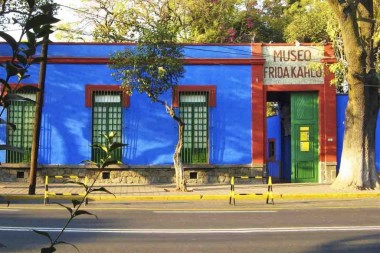 Arquitectura- Recorrido virtual por la Casa Azul de Frida Kahlo